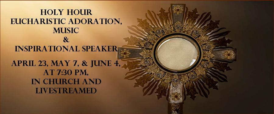 Monthly Holy Hour